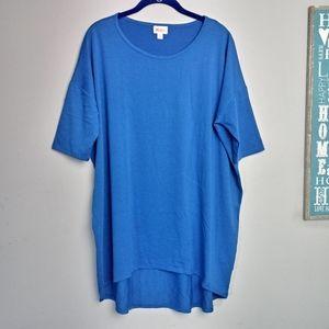 Lularoe Short Sleeve High Low T shirt Large